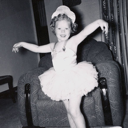 Marilyn was my pretty little ballerina