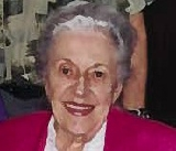 Claire Helwege Sidle May 27, 1922 -- January 8, 2012