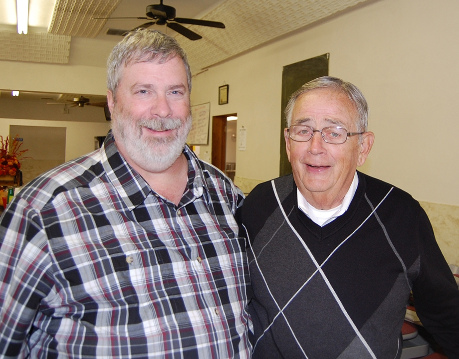 "M. Douglas Wray and William D. ""Mickey"" Rowe - Oct. 30, 2010 - Family reunion"